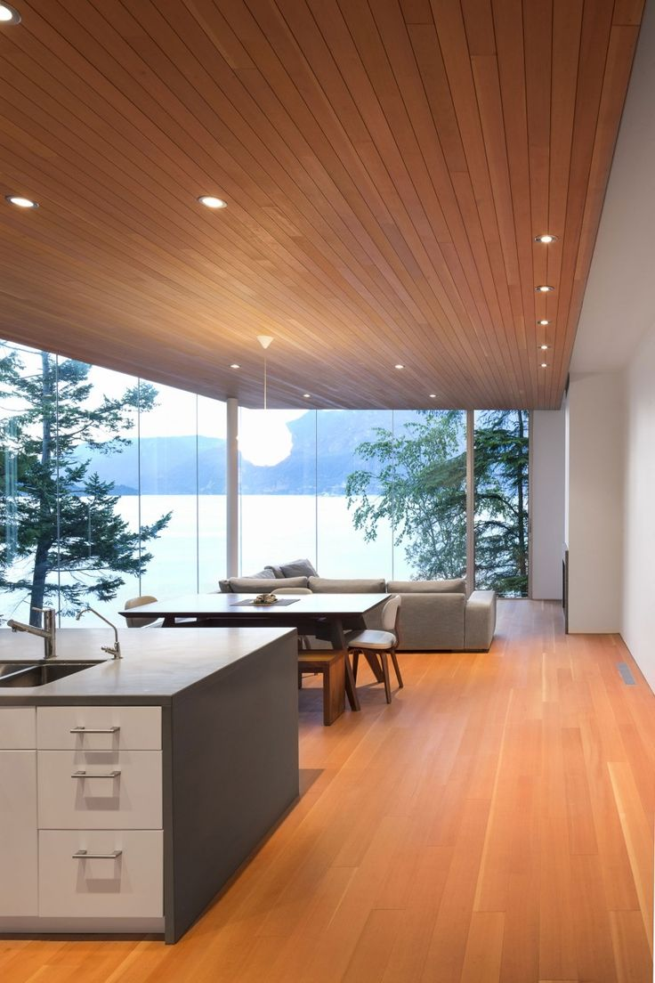 Gambier Island House in Howe Sound, near Vancouver, British Columbia, by Mcfarlane Biggar Architects + Designers via @HomeDSGN