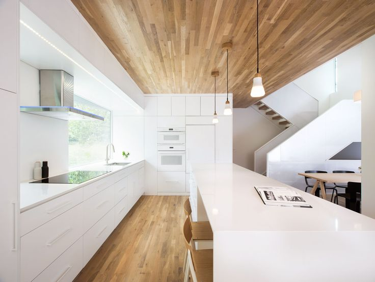 Nordic Light is a minimalist residence located in St. Paul, Minnesota, designed by D/O