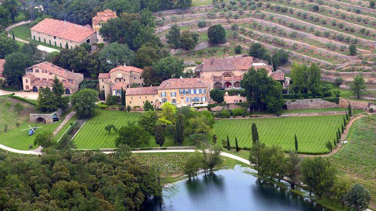 Angelina Jolie y Brad Pitt casa en Francia