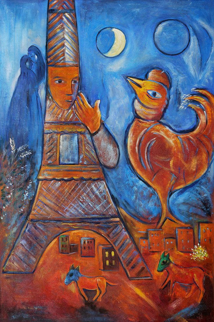 bonjour paris marc chagall biography