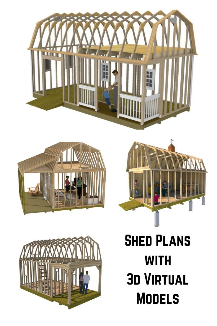 Fun And Easy Shed Plans Schuppen Lagerschuppen Schuppen Ideen