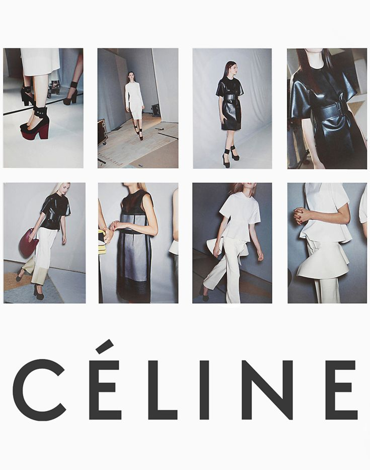 Celine is my favourite brand due to the mininimalistic but chic aesthetic it carries through in every product. I feel it represents the epitome of classic French stylish women's wear and offers such versatile pieces that can be adapted into any look. Celine's ad campaigns are also pleasing on the eye, using white backgrounds, minimalistic text, and well-lit artistic photography.