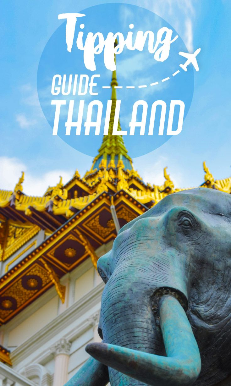 Tipping In Thailand Guide   How much to tip in Thailand, who to tip in Thailand, everything you need to know about tipping in Thailand.  via @gettingstamped