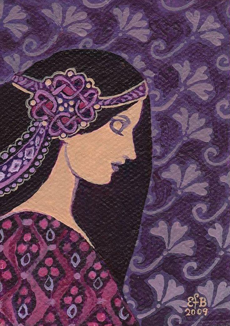 """Amethyst Goddess"" par Emily Balivet"