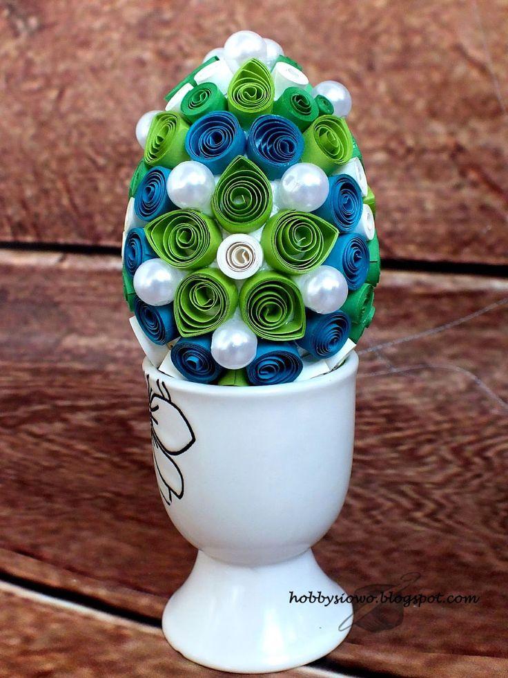 Quillingowe jajeczko