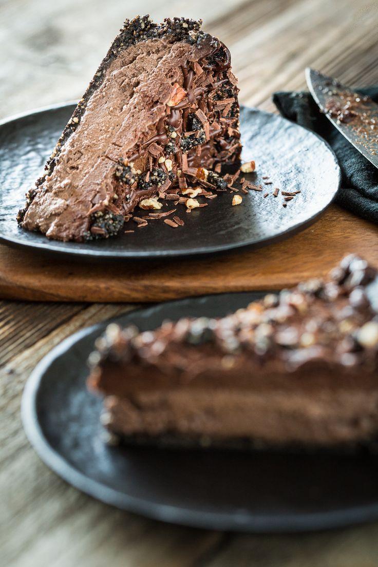 Mississippi Mud Pie Ice Cream Cake Recipe