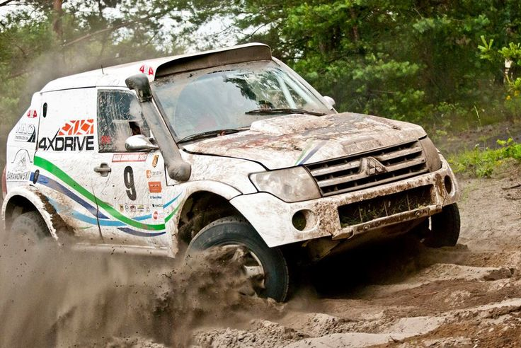Sławek Wasiak & Marcin Grydziuszko, #Mitsubishi Pajero T1 #4xDRIVE