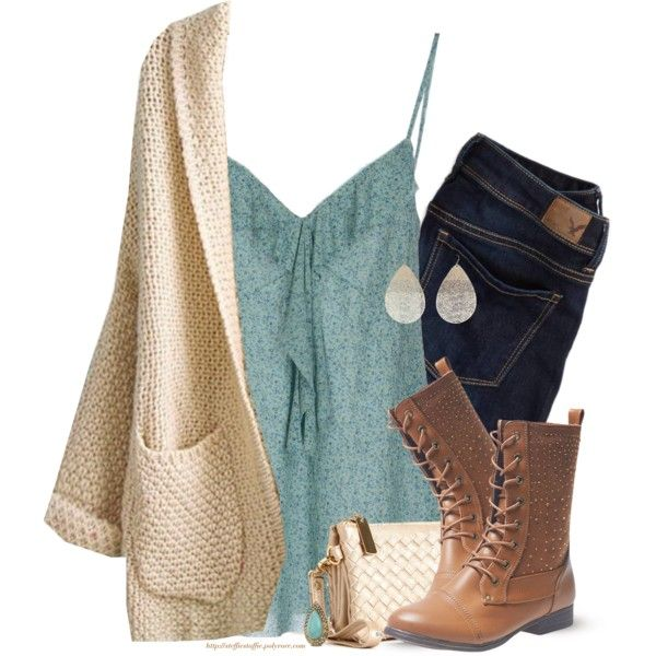 Almost Spring by steffiestaffie on Polyvore featuring ALMERIA, American Eagle Outfitters, Wet Seal and Samantha Wills
