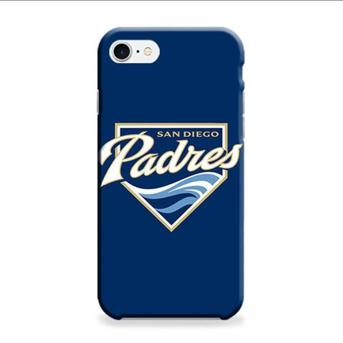 Sandiego Padres Baseball Logo Blue iPhone 7 3D Case
