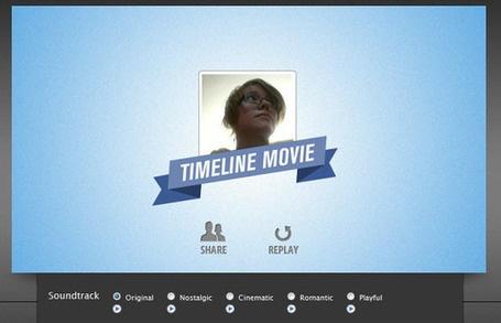 Timeline Movie Maker: créer une vidéo à partir de sa page Facebook, c'est possible !