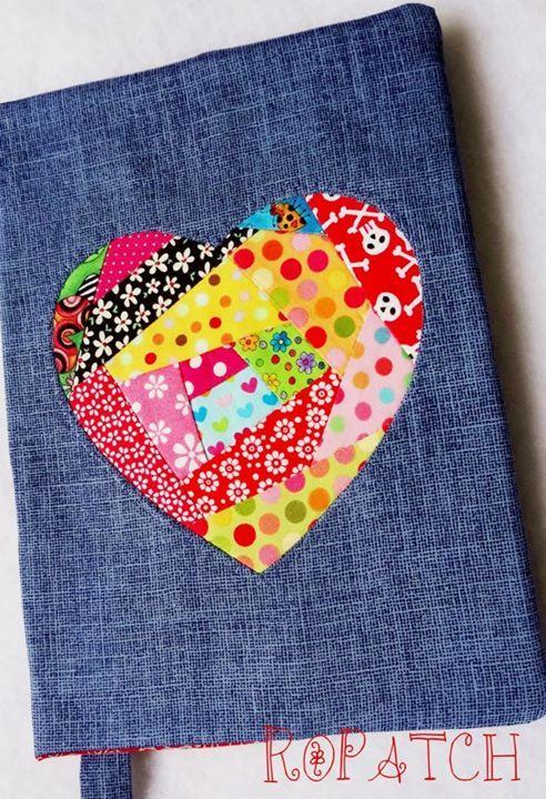 Cobertura Cuaderno Corazón