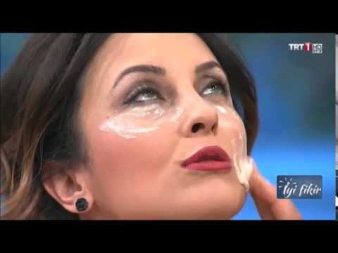 Suna Dumankaya Kırışıklık Gideren Yaş Maya Maskesi - YouTube