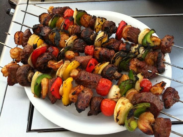 how to cook steak kabobs in a pan