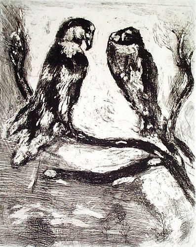 Marc Chagall (1887 – 1985)   Etchings and Lithographs    Woodend Art & Craft Gallery  Scarborough, North Yorkshire   2nd – 28th April 2012  Monday-Friday - 9am-5pm   Saturday - 11am-4pm   (closed Sundays)