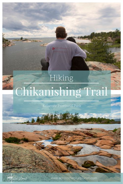 Hiking the Chikanishing Trail in Killarney Provincial Park, Ontario. #travelontario #killarneyprovincialpark #ontarioparks #hikingtrails #chikanishingtrail #photography