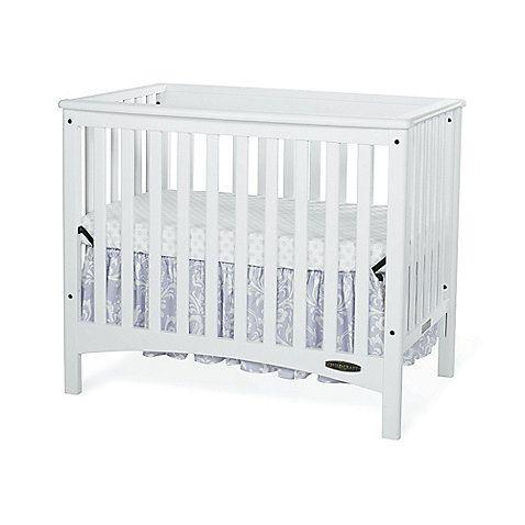 Child craft london euro 2 in 1 mini crib in white crib for Child craft london euro crib
