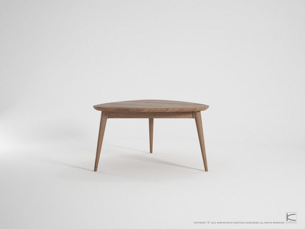 Karpenter Vintage Tripod Coffee Table - Danish style furniture