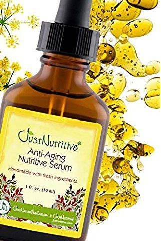 Anti-Aging Nutritive Serum | Best Anti Aging Serum | Chia Seed oil contains 7 times more Vitamin C than Oranges, combined with other nutritive oils make this serum the ultimate source for Vitamin C