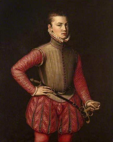 D. João de Áustria por Jorge da Rua.