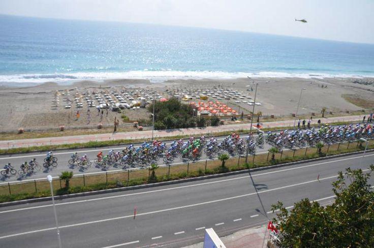 2013 Yılı 49. Cumhurbaşkanlığı bisiklet turu Alanya etabı  Alanya / Türkiye