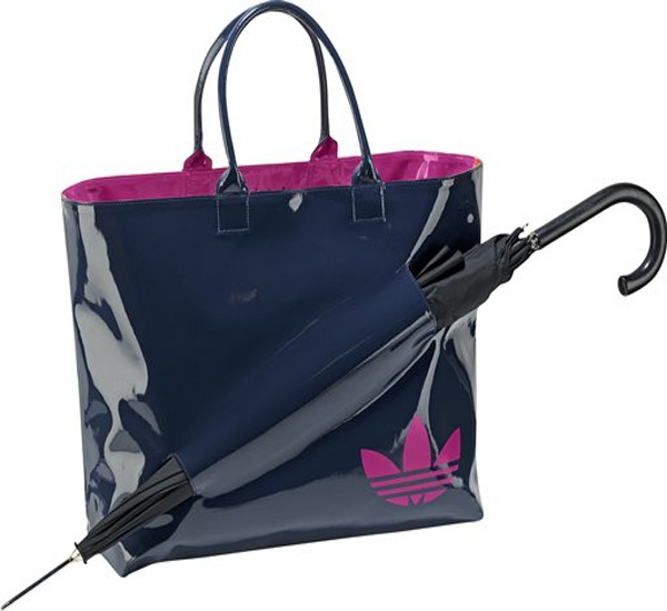 Adidas Originals Womens Rain Waterproof Shopping Bag