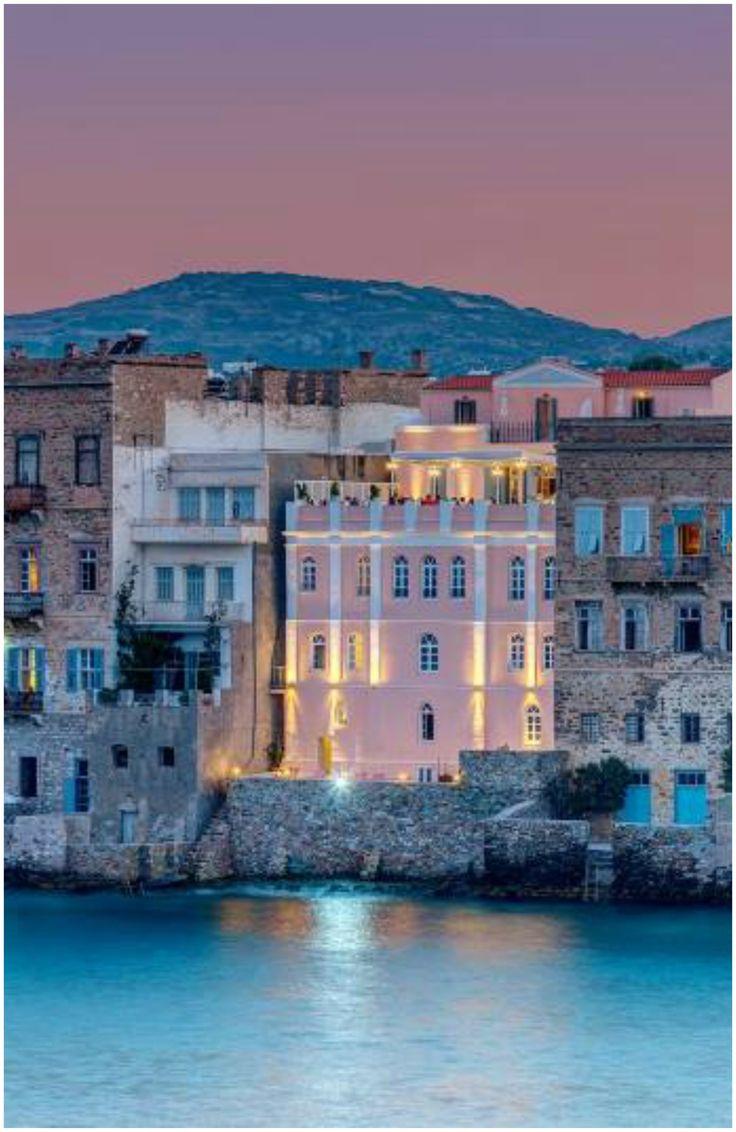 Βαπόρια, Ερμούπολη, Σύρος- Vaporia, Ermoupoli, Syros, Greece