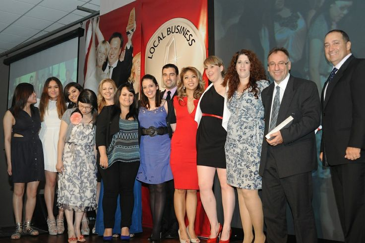 Winners of Small Business Awards 2012