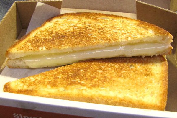 Great location right in the Prudential, made to order & always gooey custom grilled cheese!