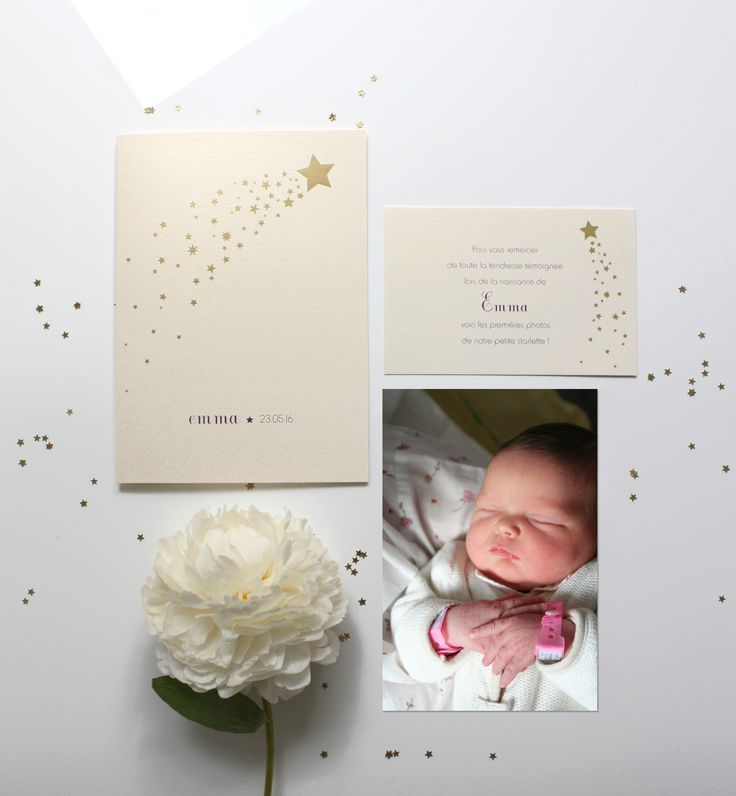 32 best Faire part de naissance Birth announcement card images on