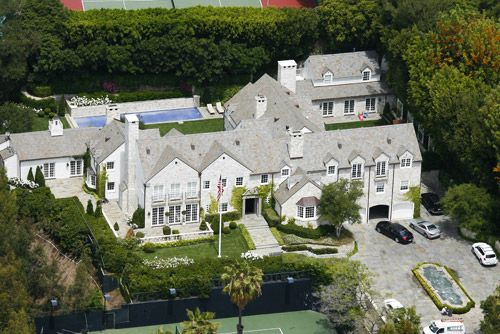 Tom Cruise Beverly Hills Mansion...