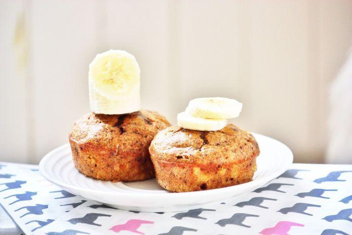 Sunne bananmuffins til 150 kalorier - Vektklubb