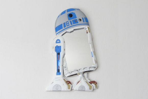 R2D2 by funkymirrors ! > https://www.etsy.com/listing/190331811/starwars-r2d2-wall-mirror-is-great-for?ref=shop_home_active_8