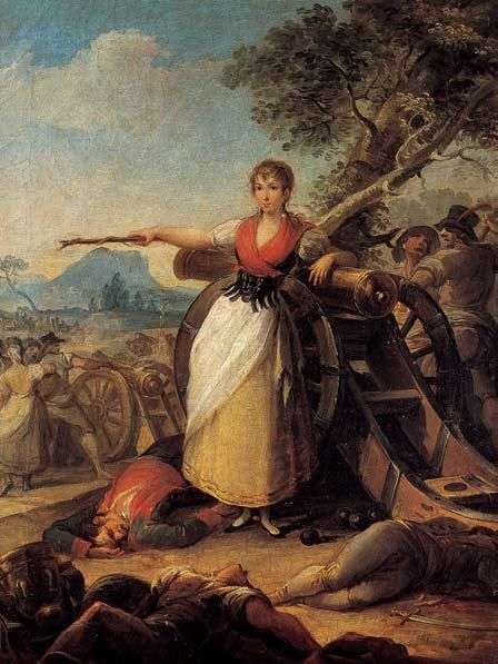 Agustina de Aragón (1786-1857) was a heroine of the Spanish War of Independence, sometimes dubbed as the 'Joan of Arc of Spain'. She was first a civilian, then became an officer in the Spanish...