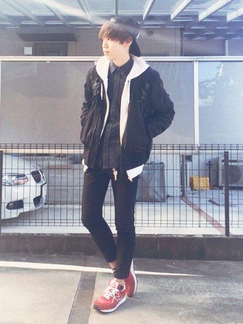 Ryoさんのミリタリージャケット「URBAN RESEARCH ALPHA INDUSTRIES×URBAN RESEARCH iD 別注MA-1 ジャケット」を使ったコーディネート