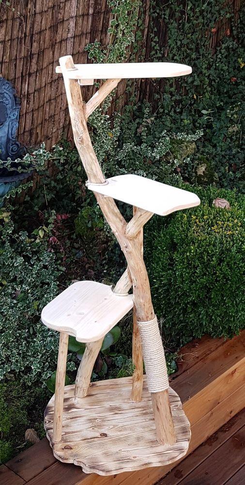 Kratzbaum Naturkratzbaum Unikat Handarbeit Echtholz | Haustierbedarf, Katzen, Kratzbäume & Möbel | eBay!