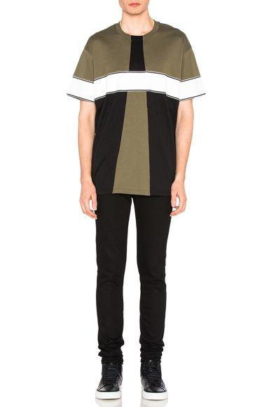 Colorblock Tee · Mens Cotton ShirtsMen's ...