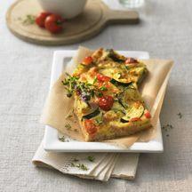 Tomaten-courgettetaart / Weight Watchers