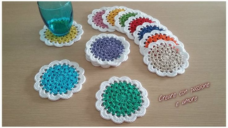 #sottobicchieri #handmadeinitaly #crochet #lemaddine #uncinetto #coaster https://www.facebook.com/702710239765140/photos/a.767944253241738.1073741847.702710239765140/875894649113364/?type=3&theater
