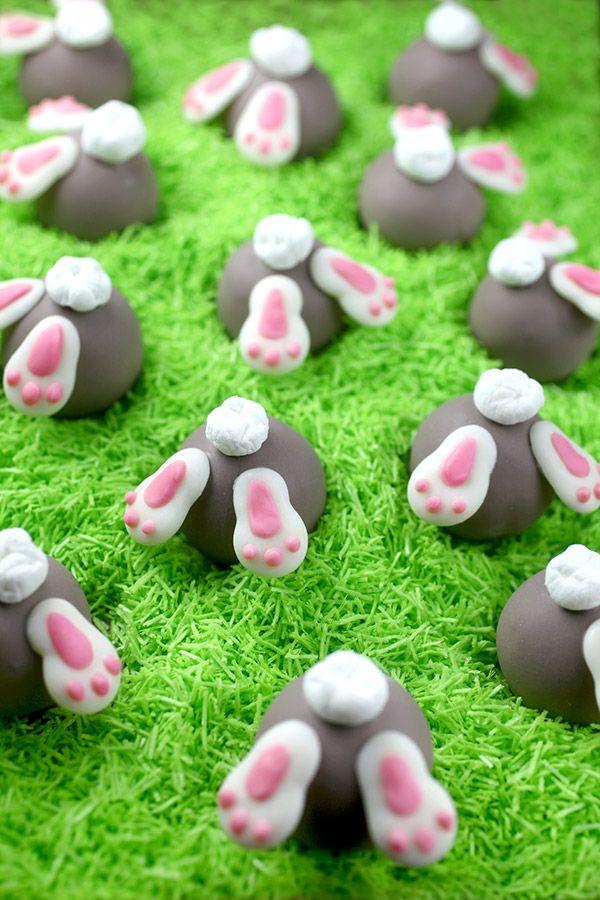 Bunny Bum Cake Balls