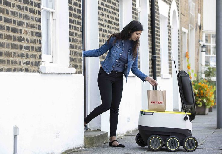 Just Eat is rolling out robots for its online food delivery service