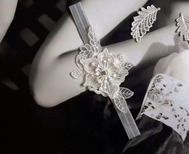 Cheap Silver Gray And Elegant Lace Wedding Garter Gorgeous Single Bridal Throw