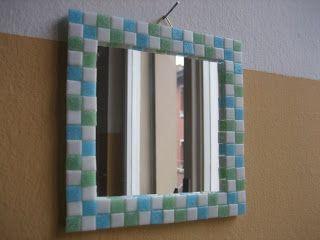Mosaik, Tabletts, Bilderrahmen, Spiegel,  mosaics, trays, frames, mirrors, mosaico, vassoi, cornici, specchi, mosaïque, plateaux, cadres, miroirs,