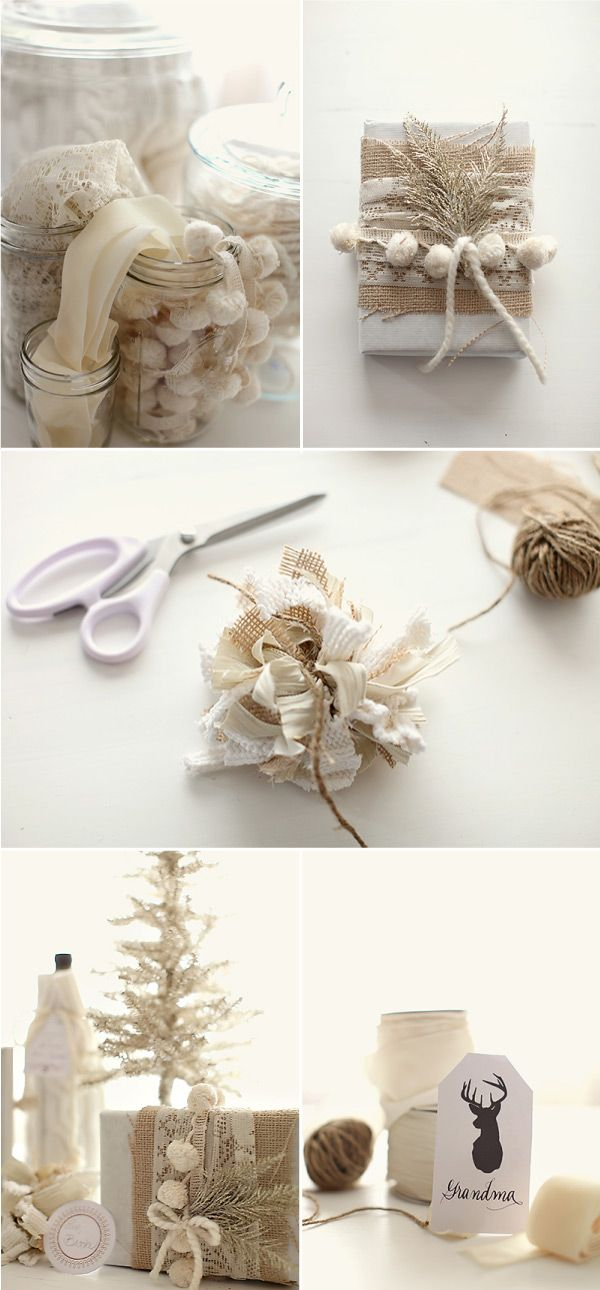 Gorgeous gift wrap styling by / http://greylikesweddings.com, Photography By / http://jennyliuphoto.com/