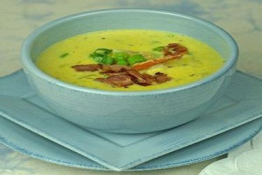 Prawn and corn chowder with bacon – Recipes – Bite