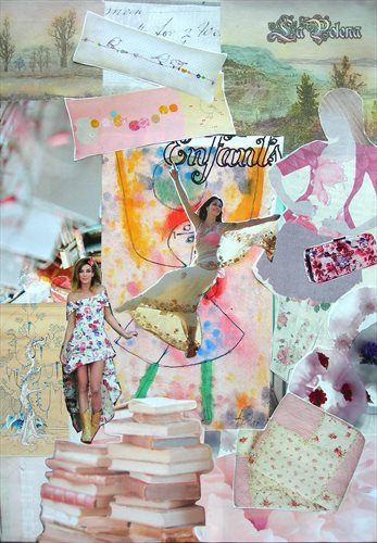 https://flic.kr/p/S18zHd | ENFANTS | Happy Childhood Dreams... Soft colours. Inspiration collage.