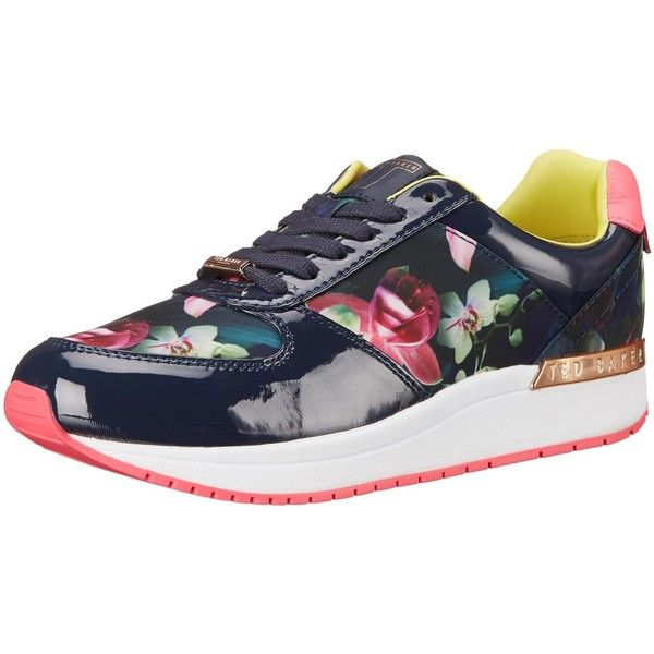 Ted Baker Women's Phressya 2 Fashion Sneaker ($140) ❤ liked on Polyvore featuring shoes, sneakers, lace up shoes, ted baker, lace up sneakers, ted baker sneakers and lacing sneakers