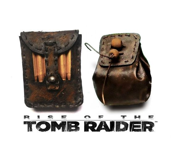 Rise of the Tomb Raider inspired Ammo pouches