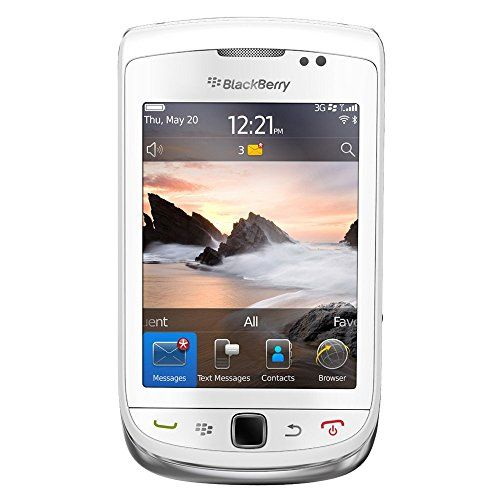 Buy Blackberry Torch 9810 Unlocked GSM HSPA+ OS 7.0 Slider Cell Phone - White REFURBISHED for 136.99 USD | Reusell