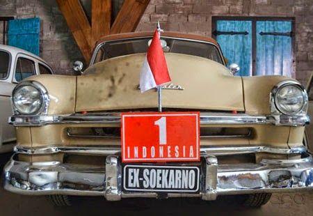 Mobil klasik Ir. Soekarno