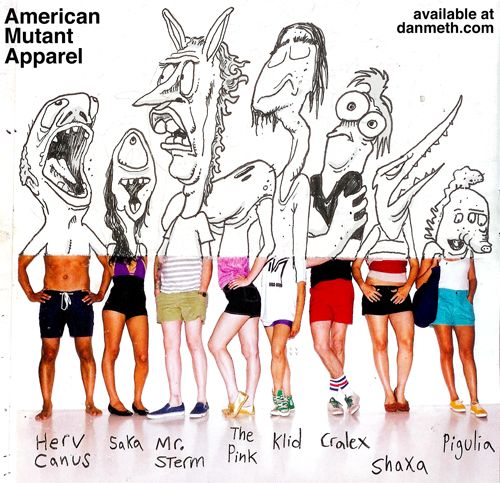 Drawing project?    danmeth:    American Mutant Apparel